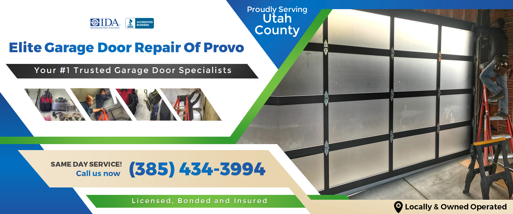 Elite Garage Door Repair Of Provo UT