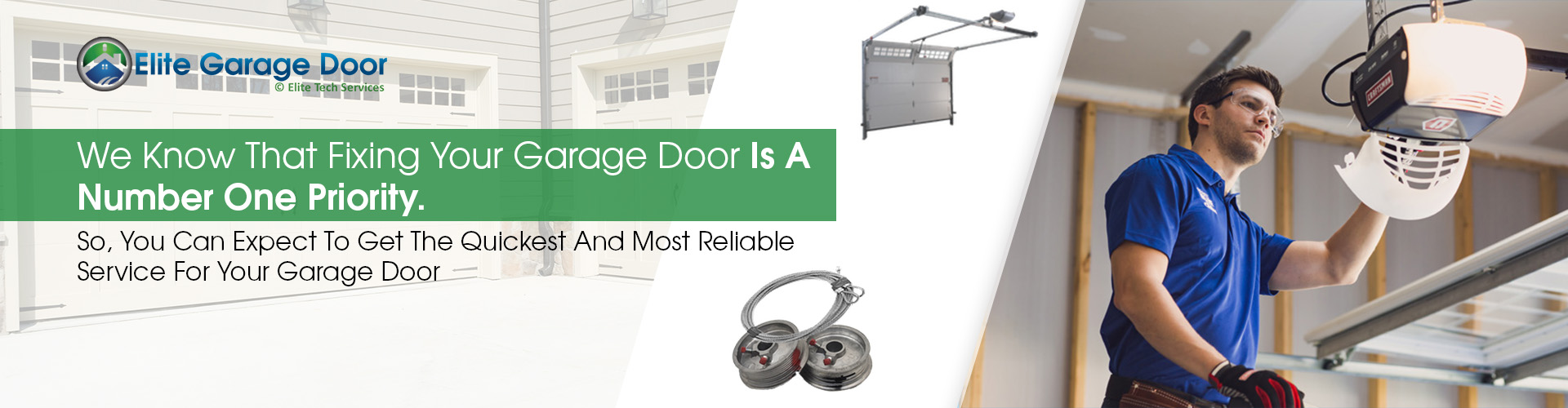 Elite® Garage Door, Repair & Installation Services, In Spanish Fork UT